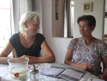 Silvia, unsere Gründungsvorsitzende