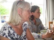Marion und Milena vom dänischen Verein